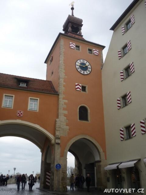 Regensburg Řezno Německo 8