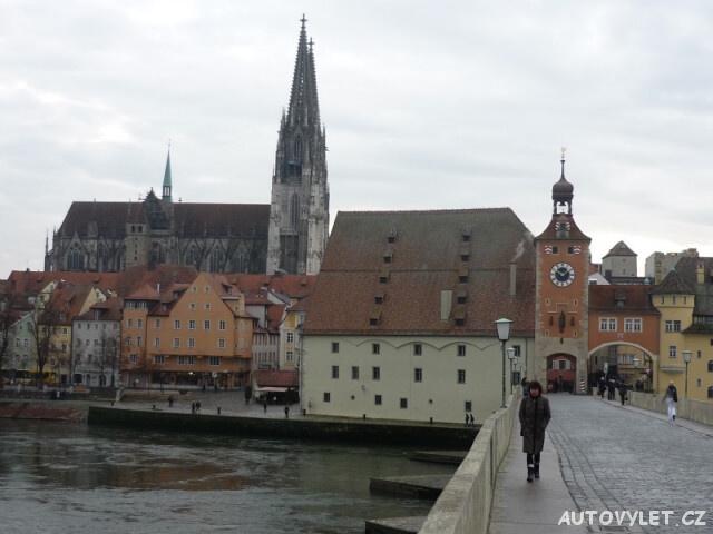 Regensburg Řezno Německo 9