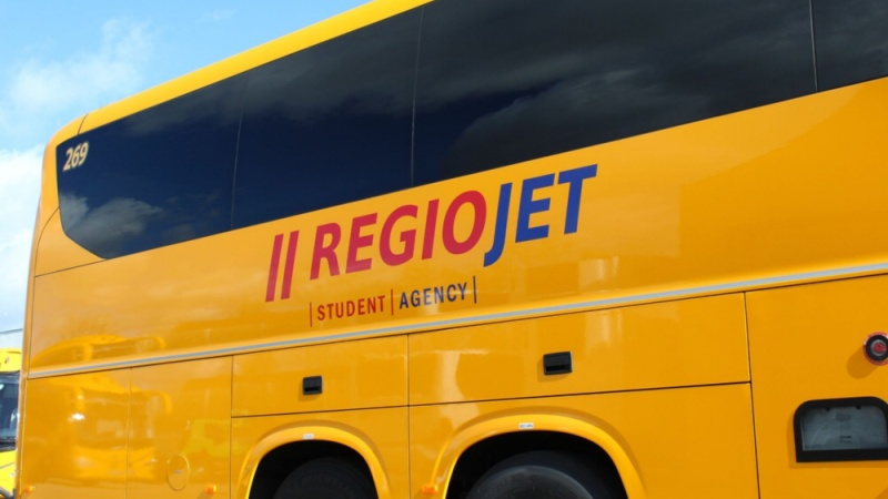 regiojet autobus