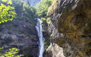 Reichenbašské vodopády - Meiringen Švýcarsko
