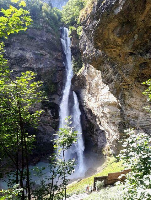 Reichenbašské vodopády - Švýcarsko