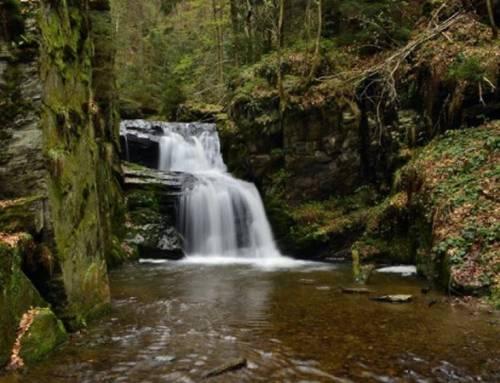 Rešovské vodopády – nejhezčí kaskáda Moravy
