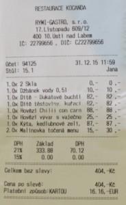 restaurace kocanda Ústí nad Labem 5