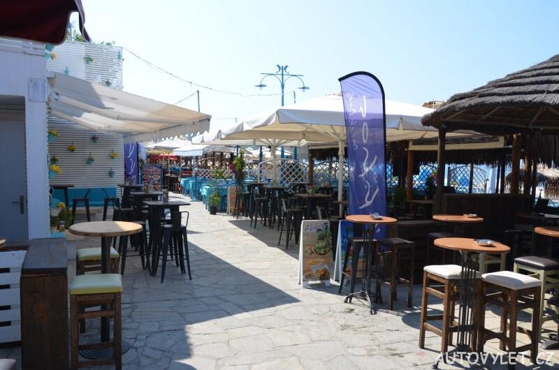 Restaurace - Město Potos Thassos Řecko