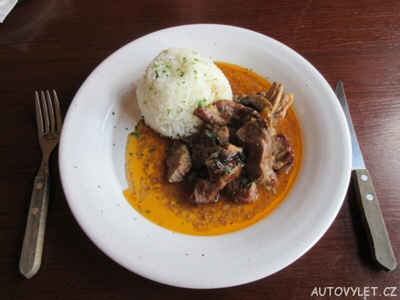 Restaurace Zlaté Slunce u Kolína - Čertovy špalky s rýží