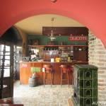 Restaurace Zlaté Slunce u Kolína - bar