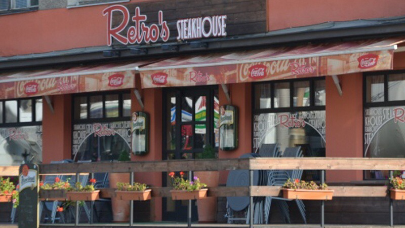 retros steakhouse Ústí nad Labem