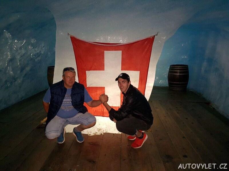 rhonegletcher švýcarsko 2