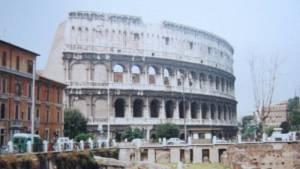 Koloseum v Římě - Itálie