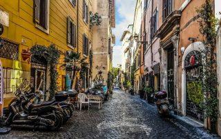 Řím Itálie ubytování