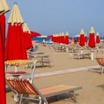 Má první dovolená v Rimini v Itálii