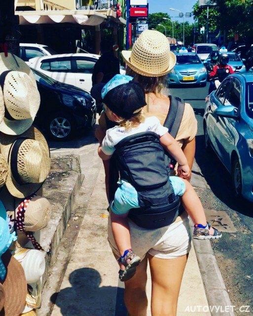 Rodina na cestách - Bali 1