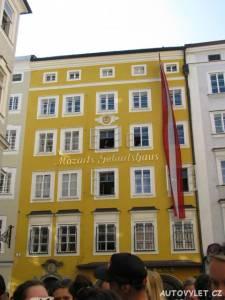 Rodný dům Amadea Mozarta - Salzburg