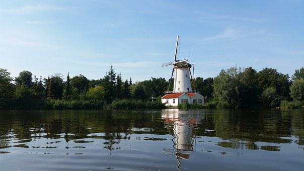 Rotterdam větrný mlýn