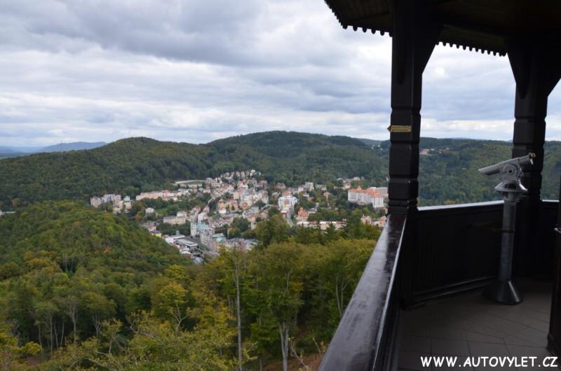 Rozhledna Diana - Karlovy Vary