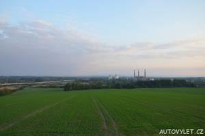 Výhled z rozhledny Hošťálkovice u Ostravy