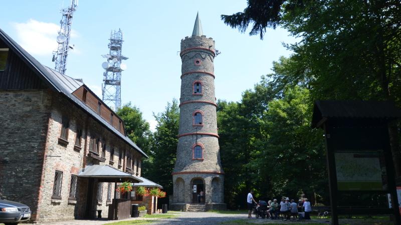Rozhledna Jedlová hora - Jiřetín pod Jedlovou