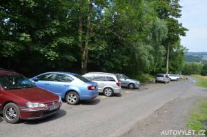 Rozhledna Jedlová hora - parkování
