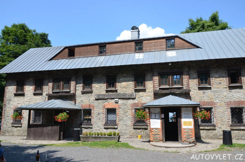 Rozhledna Jedlová hora - restaurace