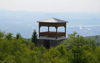 rozhledna Jeřabina Litvínov Krušné hory