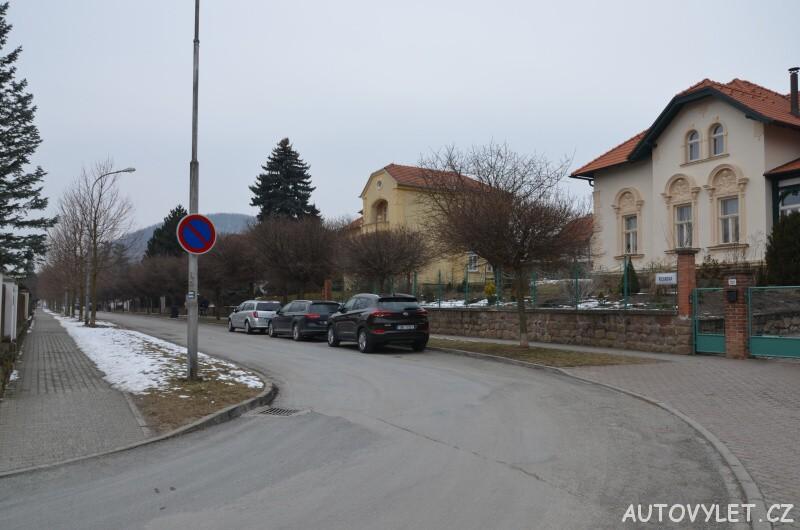 Rozhledna Klucanina Tišnov - parkování