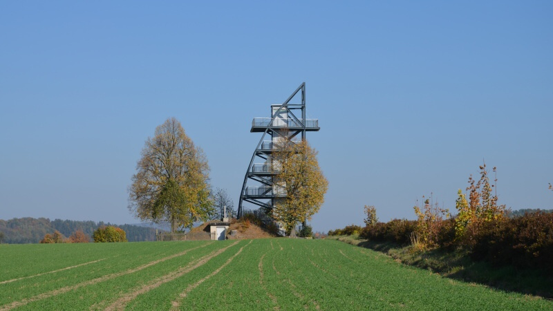 Rozhledna Rathmannsdorf - Německo