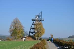 Rozhledna Rathmannsdorf - Německo 2