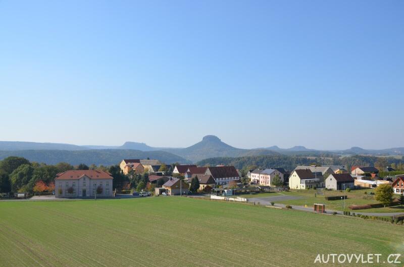 Rozhledna Rathmannsdorf - Německo 5