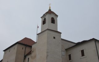 Rozhledna Špilberk - hrad Brno