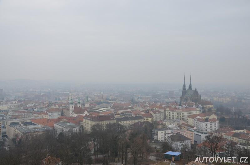 Rozhledna Špilberk - hrad Brno 2