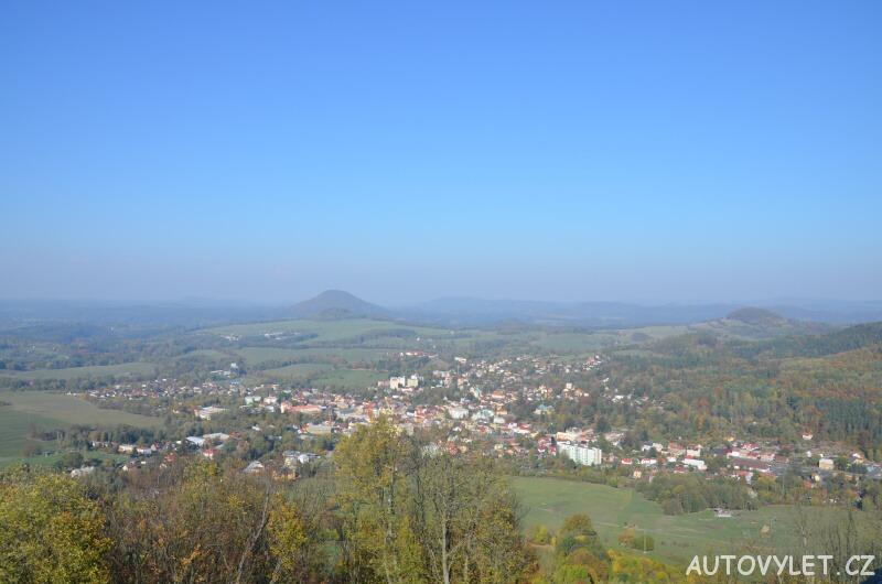 Rozhledna Zámecký vrch u České Kamenice 5