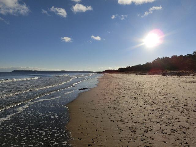 rujána binz pláž