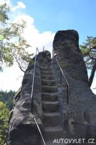 Samuelova jeskyně - Sloup v Čechách 10