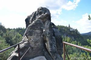 Samuelova jeskyně - Sloup v Čechách 9