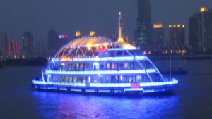 šanghaj v noci