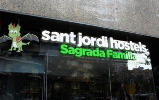 sant jordi hostels sagrada familia barcelona