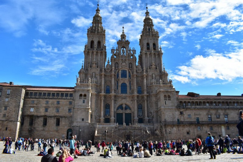 Santiago de Compostela Španělsko