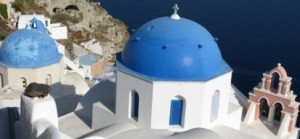 Santorini Řecko