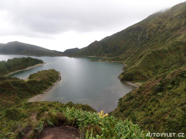 sao miguel - lago da fogo - Azorské ostrovy - Azory dovolená