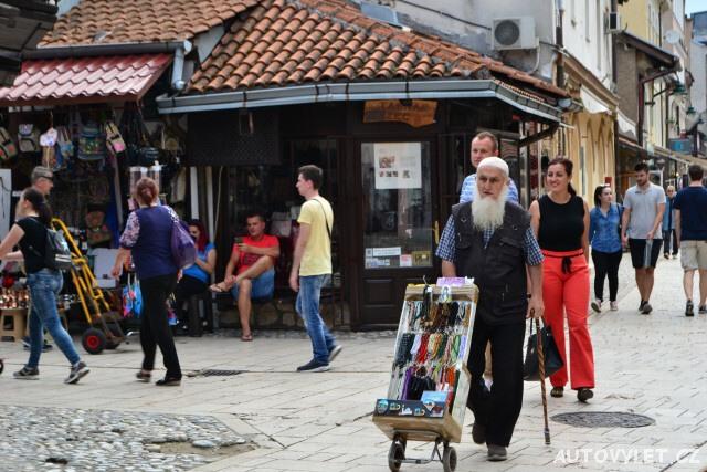 Sarajevo Bosna stopem 2