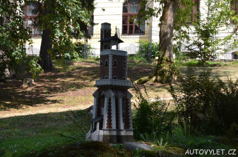 Schillerova rozhledna Kryry - Boheminium Park Mariánské Lázně
