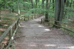 Schody - vyhlídka Gosan Mezizdroje Polsko