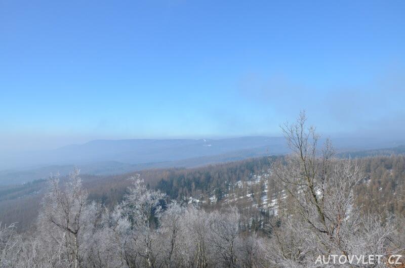 Sedmihůrská vyhlídka - Krušné hory