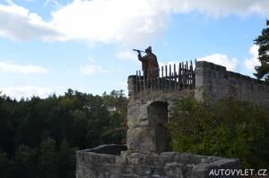 Skalní hrad a poustevna Sloup v Čechách 6