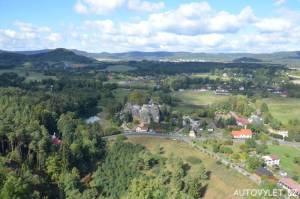 Skalní hrad Sloup v Čechách - Lužické hory