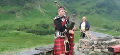 Skotský dudák