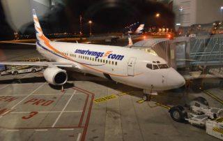 smartwings letadlo letiště václava havla praha