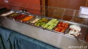 Snídaně v Avliga beach hotelu v Bulharsku 4