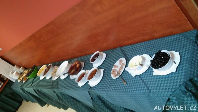 Snídaně v Avliga beach hotelu v Bulharsku 6