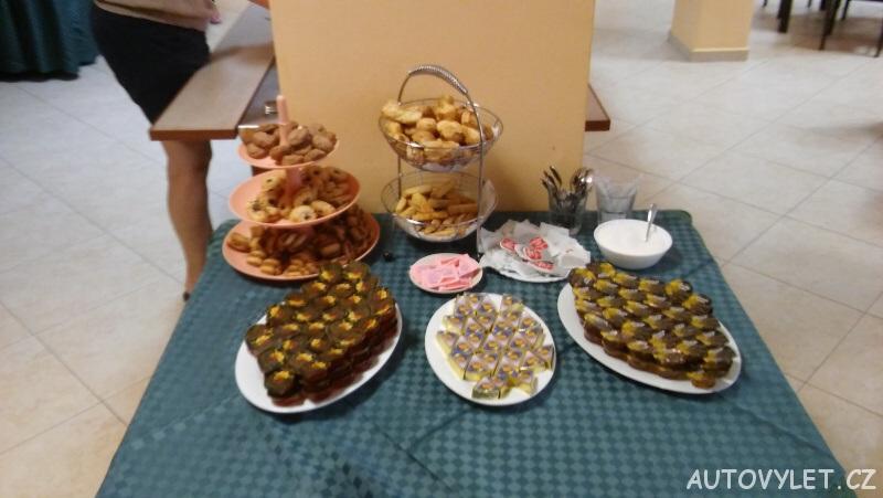 Snídaně v Avliga beach hotelu v Bulharsku 7
